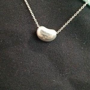 Tiffany &Co Elsa Peretti bean necklace